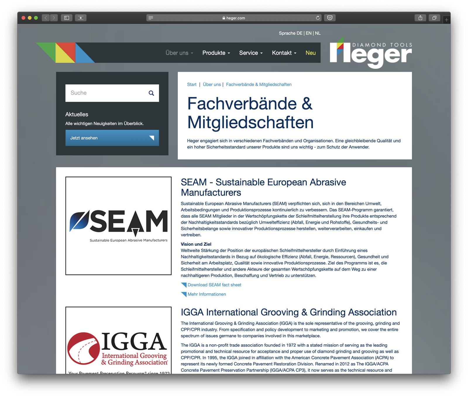 SEAM – Sustainable European Abrasive Manufacturers
